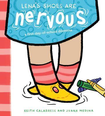 Sách Ngày Đầu Tiên Đi Học: Đôi Giày Của Lena hồi hộp