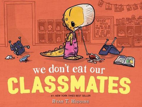 Sách Ngày Đầu Tiên Đi Học: Chúng Ta Không Ăn Thịt Bạn Cùng Lớp