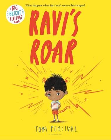 Bìa sách Ravi's Roar